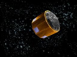 El panel solar de Gaia desplegado cubre un área de 100 metros cuadrados.