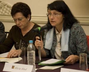"""La historiadora Alicia Alted, coordinadora del programa """"setenta años de exilio"""""""