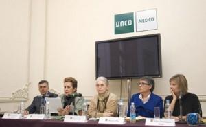 Mesa sobre las asociaciones civiles, políticas y educativas de los exilados en México.