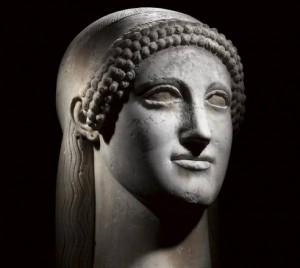 Acrolito Ludovisi | Marmo greco insulare - Roma, Museo Nazionale Romano
