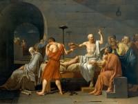 Muerte de Socrates   Jacques Louis David