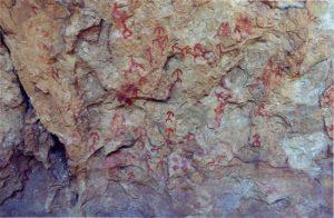 Figuras humanas en Abrigo Remacha | Luz Cardito Rollán