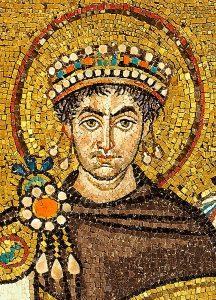 Mosaico de Justiniano I en la iglesia de San Vital en Rávena | Petar Milošević