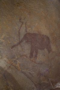 Representación de un elefante en Azguer | Martí Mas