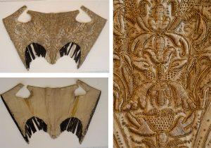 Detalle del corpiño analizado | Museo del Traje